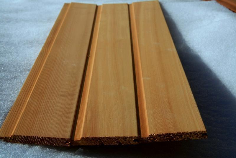 Pose lambris en bois au plafond travaux devis gratuit la for Lambris pvc pour exterieur